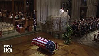 Download WATCH: Rev. Russell Levenson Jr. delivers homily at funeral for George H.W. Bush Video