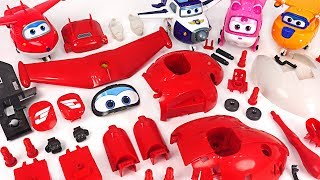 Download Dinosaurs and villains showed up! Super Wings! Make the Jett with Model Assembly Kit! #DuDuPopTOY Video