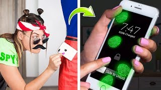 Download 15 Spy Pranks And Life Hacks / What If Your BFF Is A Spy Video