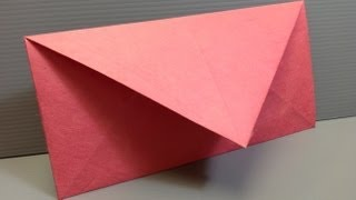 Download Make Your Own Origami Envelopes ANY SIZE! Video