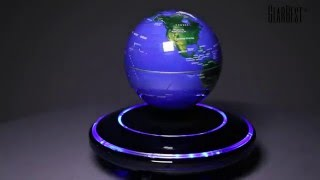 Download Magnetic Levitation Floating Globe World Map - Gearbest Video