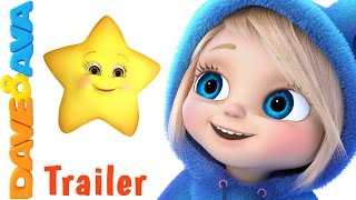 Download 🌟 Twinkle Twinkle Little Star - Trailer | Nursery Rhymes and Baby Songs from Dave and Ava 🌟 Video