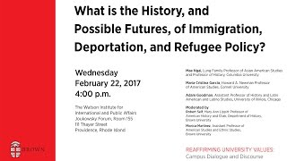 Download What is the History, and Possible Futures, of Immigration Deportation and Refugee Policy? Video