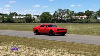 Download Hear the 2018 Dodge Challenger SRT Demon Under Full Throttle Video