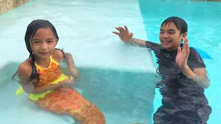 Download Mermaid Vs Shark Pieface Family Game | Toys Academy Video