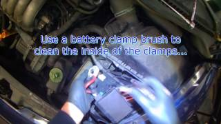 Download VW A4: New Beetle battery removal (part 1) Video