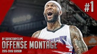 Download DeMarcus Cousins Offense & Defense Highlights Montage 2015/2016 (Part 1) - Best Center In The Game! Video