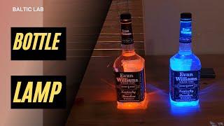 Download KF5OBS #60: Whiskey Bottle LED Lamp Video
