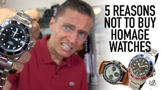 Download 5 Reasons NOT To Buy A Homage Watch - Are Steinhart, Parnis, Invicta & Alpha A Waste Of Money? Video