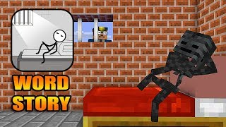 Download Monster School : WORD STORY CHALLENGE- Minecraft Animation Video