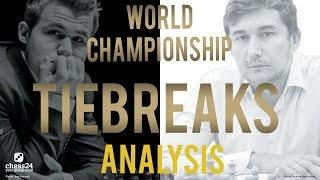Download Carlsen - Karjakin Tiebreaks World Chess Championship 2016 | Grandmaster Analysis Video
