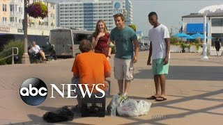 Download Teens Harass And Humiliate the Homeless | What Would You Do? | WWYD Video