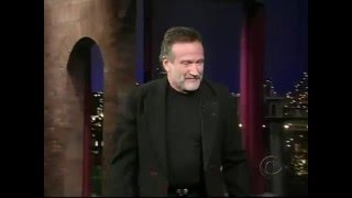 Download Late Show with David Letterman - Robin Williams Video