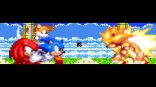Download Team Sonic vs. Mecha Sonic [Sprite Animation] Video
