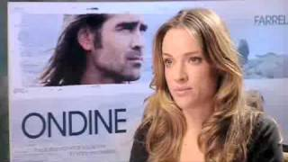 Download ALICJA BACHLEDA interview for her new film ONDINE and her relationship with COLIN FARRELL Video