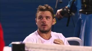 Download Controversy in Australian Open 2014 Men's Final between Stan Wawrinka and Rafa Nadal Video