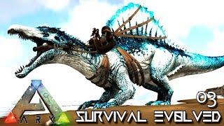 ARK: SURVIVAL EVOLVED - FIRST POISON DINO TAMING !!! E02