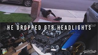 Download HE DROPPED GTR HEADLIGHTS and INSTALL Video