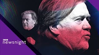Download FULL INTERVIEW: Trump's former chief strategist Steve Bannon- BBC News Video