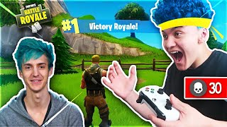 Download 15 Year Old Kid Impersonates Ninja And Wins Fortnite... Video