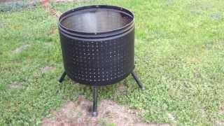 Download Washing Machine Fire Pit Video
