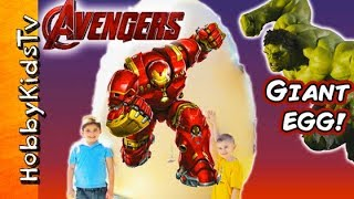 Download Giant HULKBUSTER IronMans Suit as a Surprise Egg! Video