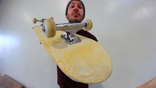 Download FIBERGLASS SKATEBOARD | YOU MAKE IT WE SKATE IT EP 91 Video