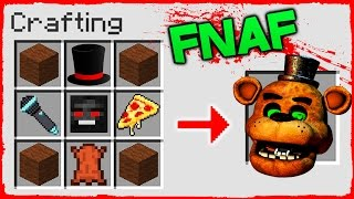 Download Minecraft FNAF - How to Summon FREDDY in a Crafting Table! Video