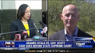 Download Aramis Ayala v.s. Governor Scott: Case Goes Before State Supreme Court Video