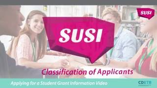 Download SUSI Student Grants. Classification of applicants Video