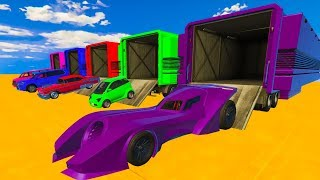 Download Learn Colors and Numbers with Cars & Superheroes in Spiderman Cartoon for Kids Nursery Rhymes Video