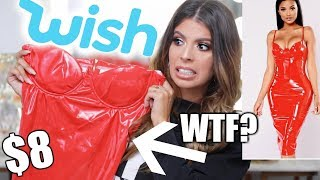 Download I BOUGHT THE CHEAPEST WISH CLOTHING | TRY ON HAUL! Video