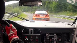 Download Crazy 1st Lap VLN 8 2012 onboard Porsche GT3 Cup Nurburgring Nordschleife avoiding big BMW Crash Video