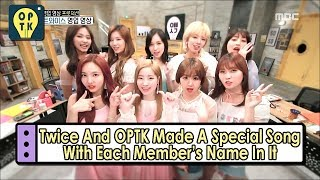 Download [Oppa Thinking - TWICE] Special Song With Each Member's Name In It 20170527 Video