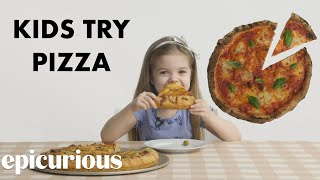 Download Kids Try 10 Styles of Pizza from Around the World Video