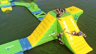 Download Nerf Blasters Floating Island Battle | Dude Perfect Video