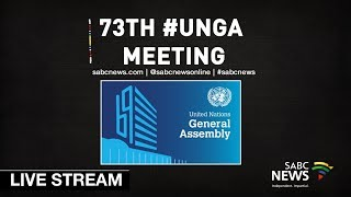 Download 73rd United Nations General Assembly: 25 September 2018 Part 2 Video