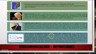 Download Educomunicación - Debate Video