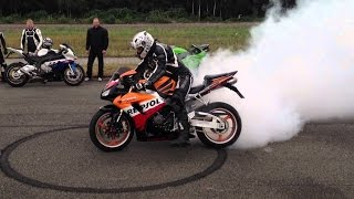 Download BIKERS Compilation 2016 - Burnout, Acceleration, Beautiful Motorbike Sounds! Motorrad Video