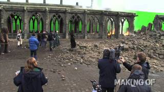 Download On set for the final chapter of 'Harry Potter and the Deathly Hallows: Part 2' Video