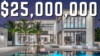 Download The Newest MEGA Mansion in Miami Beach   Find Out Why its $25 MILLION Video