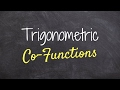 Download How to use and understand cofunction identities Video