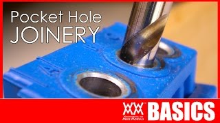 Download Beginner's guide to pocket hole joinery | WOODWORKING BASICS Video