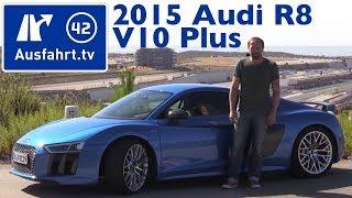 Download 2015 Audi R8 V10 plus - Fahrbericht der Probefahrt, Test, Review (German) Video