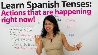 Download How to express what's happening right now in Spanish Video