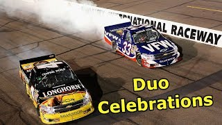 Download Duo Celebrations in NASCAR Video