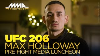 Download UFC 206: Max Holloway Media Luncheon Video