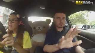 Download 這個女車手假扮成不會開車的傻妹,當她踩下油門駕訓班的教練都抓狂了! Video