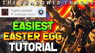 Download WW2 ZOMBIES - THE SHADOWED THRONE EASTER EGG GUIDE TUTORIAL/WALKTHROUGH! (Call of Duty WW2 Zombies) Video