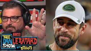 Download Aaron Rodgers interview on injury, golf with Obama (Part 2/2) | Dan Le Batard Show | ESPN Video